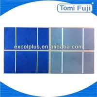 2013 Hottest high efficiency 78x156mm(3x6) inch cheap price Photovoltaic solar cell solar panel, solar lighting system low price