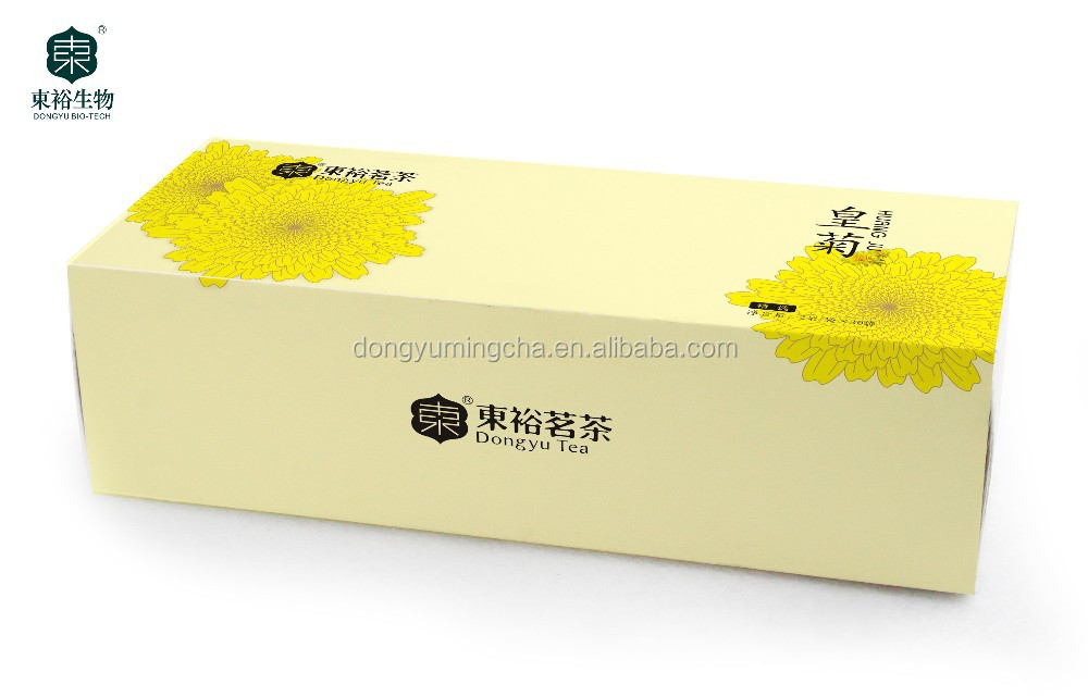 Dongyu Yellow Imperial Chrysanthemum Tea for Drink Golden Dragon Scale