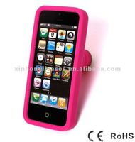 for iphone 5 silicon case ,silicone stand case for iphone 5