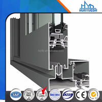 Chinese supplier 6000 aluminum sliding window section customized