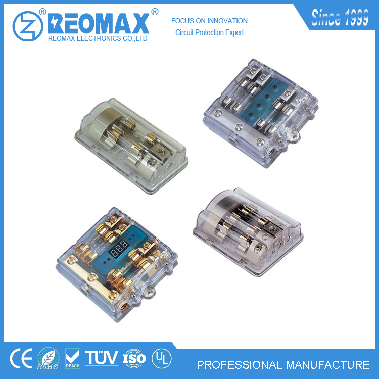 40A 50A 60A 70A 80A AGU ANL ANM circuit breaker auto automotive glass tube fuse holder block bolt on fuse box