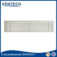 Linear bar grille aluminium grille for air condictioning