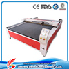 High quality with dust cover CO2 150w CNC large size fabric laser cutting machine for sale