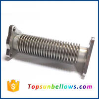 321 multiple single bellows exhaust expansion joints