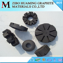 Antioxidation Graphite Rotor - graphite shaft and impeller