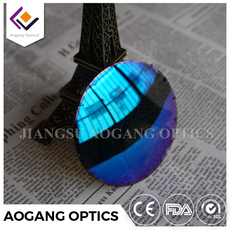 Optical lab CR39 Polarized color lenses