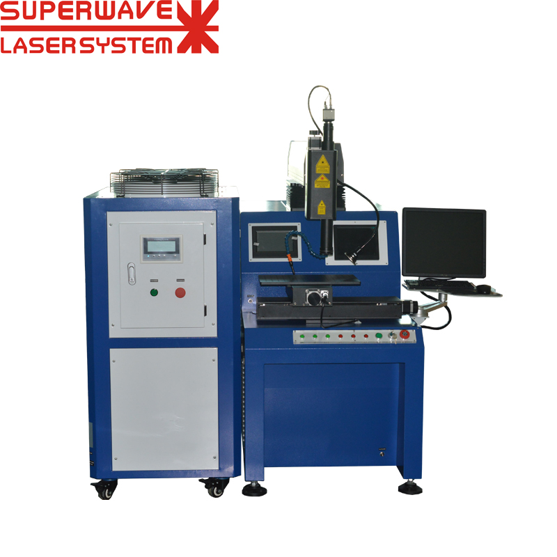 Metal Electronic/Industrial Components Welding Precision Automated Fiber Laser Welding Equipment