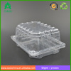 biodegradable disposable plastic frozen fast food tray packaging/ Eco Friendly Clear Disposable Plastic Frozen Food Tray Packagi
