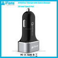 Qualcomm Certified 3.0 USB Car Charger 5V 5.4A Type C Car Charger with Smart Sense IC