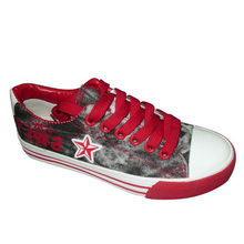 2013 latest design vulcanized shoes china canvas shoes