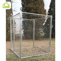 2015 New Style Big Galvanized chain link Wire Mesh Dog Kennel