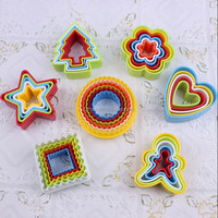 plastic cookie cutter/cookie cutter set/wholesale cookie cutter