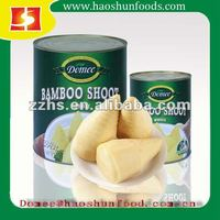 Canned Bamboo Shoot Whole in Water & Salt