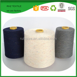 Ne 21/1 Carded Cotton/Viscose Blended Yarn 60%/40% Raw White