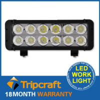 12pcs*10w high intensity LED light bar cover 10200 lum 120W LED Light Bars