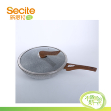Die-cast Aluminium Double Handle Stone-coating Non stick Fry Pan