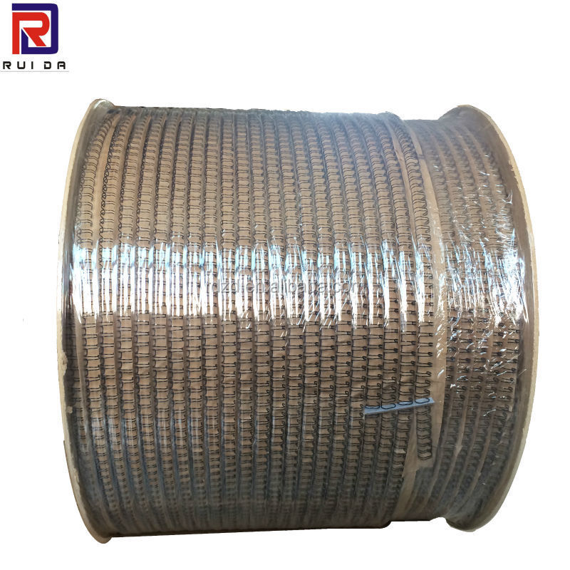 high quality twin ring wire in roll different color books binding wire
