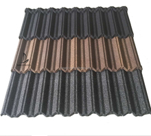 Roof design classic style corrugated galvalnized galvalume metal roof materials color stone chips coated roof philippines price