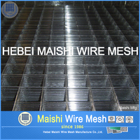 Electric Galvanized welded wire mesh panel for concrete building