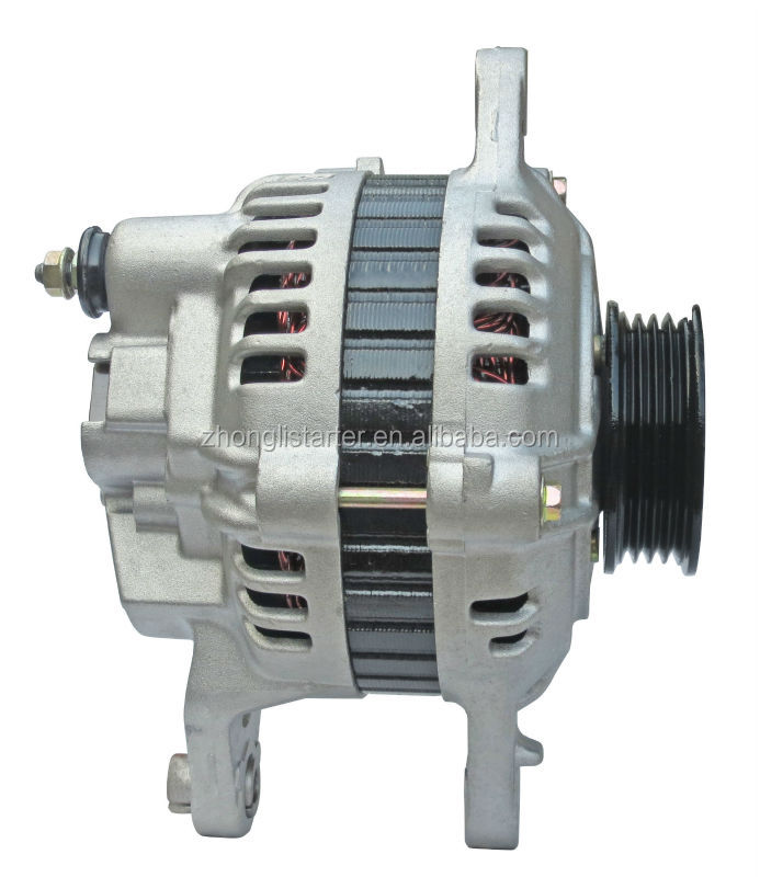 Good quality auto spare parts 12v rebuilt car alternator for Hyundai excel OEM: 37300-24510 Lester: 14436 Engine: 4G54