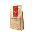 China suppliers moistureproof plastic lamianted stand up ziplock kraft paper bags with square bottom