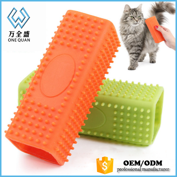 Wholesale Pet Hair Grooming Pet Rubber Brushes