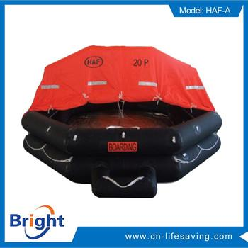 New design inflatable life float raft with low price