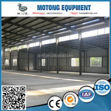 poultry steel structure house for broiler chicken farm