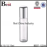 glass bottle with roller ball for perfume roll on glass bottle