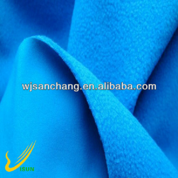 Outdoor TPU waterproof soft shell fleece fabric