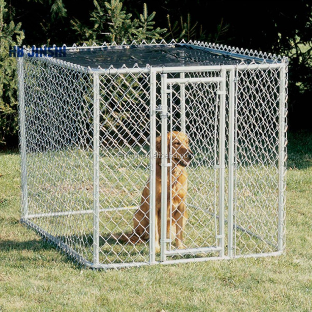 10 x 10 x 6 ft. Dog Run Dog Kennel