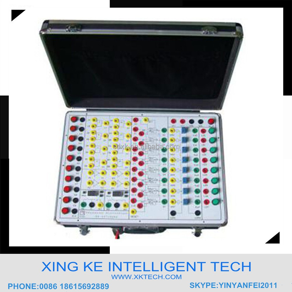 Electronics Training Equipment Electrical Engineering Laboratory Equipment For University XK-AUT1009A Electronic Sequencer Set