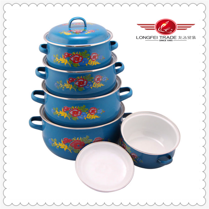 5 pcs korea ceramic cookware/stocked kitchenware 2014