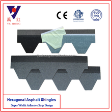 Blue Gray Mosaic Asphalt Roofing Shingle