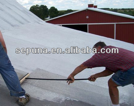 Liquid Elastomic Acrylic White Roof Coating