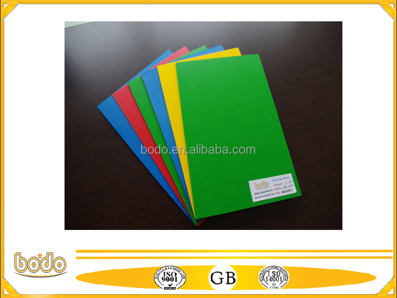 colorful rigid pvc plastic sheet