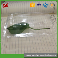 Wholesale food grade plastic PET clamshell blister packaging tray