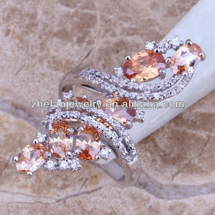 Top design long finger rings championship ring jewellery turkey