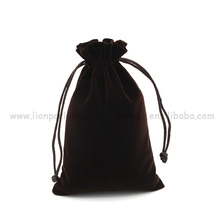 Exquisite agate gemstone Crystal & Agate Stone packing bag sac en velours velvet jewellery pouch