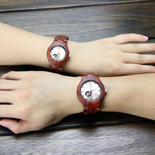High quality new fashion of waterproof wooden watch unisex,in wooden wrist watches
