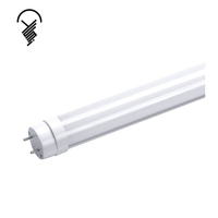 High quality 600mm 9W indoor lighting 2700-6500K 2ft 3ft 4ft 5ft 6ft 8ft t8 led tube light