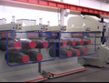 white and transperent PP strapping machine PP packing straps extrusion line