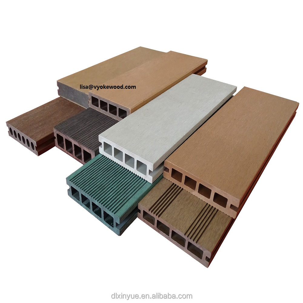 Wholesale Cheap wood plastic composite decking, good price wpc floor, outdoor wpc deck