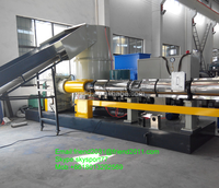 HDPE film automatic plastic granulator production line/plastic pellet granulation line