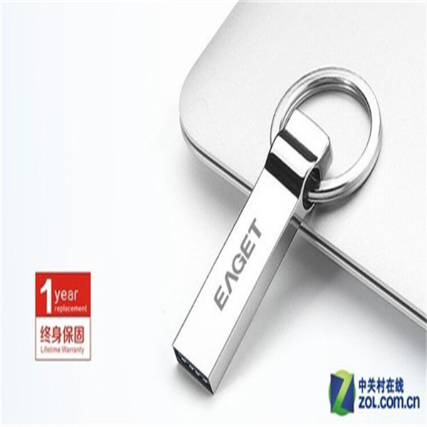 2017 New Silver Metal MINI USB 2.0 Flash Memory Pen Drive Stick Key Ring usb flash drive