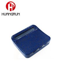 Smoking factory tobacco filling roller royal blue metal material cigarette rolling machine