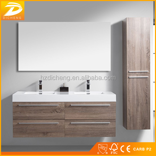 Wall Hanging Double Sinks Modern Designs Bathroom Furniture Ideas