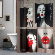 180x180cm Sexy Girl High Quality Waterproof Shower Curtain