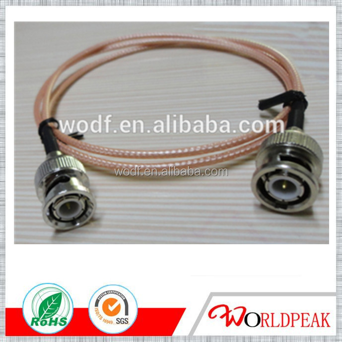 WODF FACTORY BNC male/plug conector rg316 coaxial cable