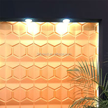 New products molded pulp 3D pvc wall panels school boards decorations